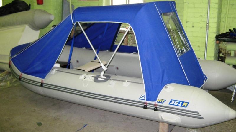 Лодка пвх тент